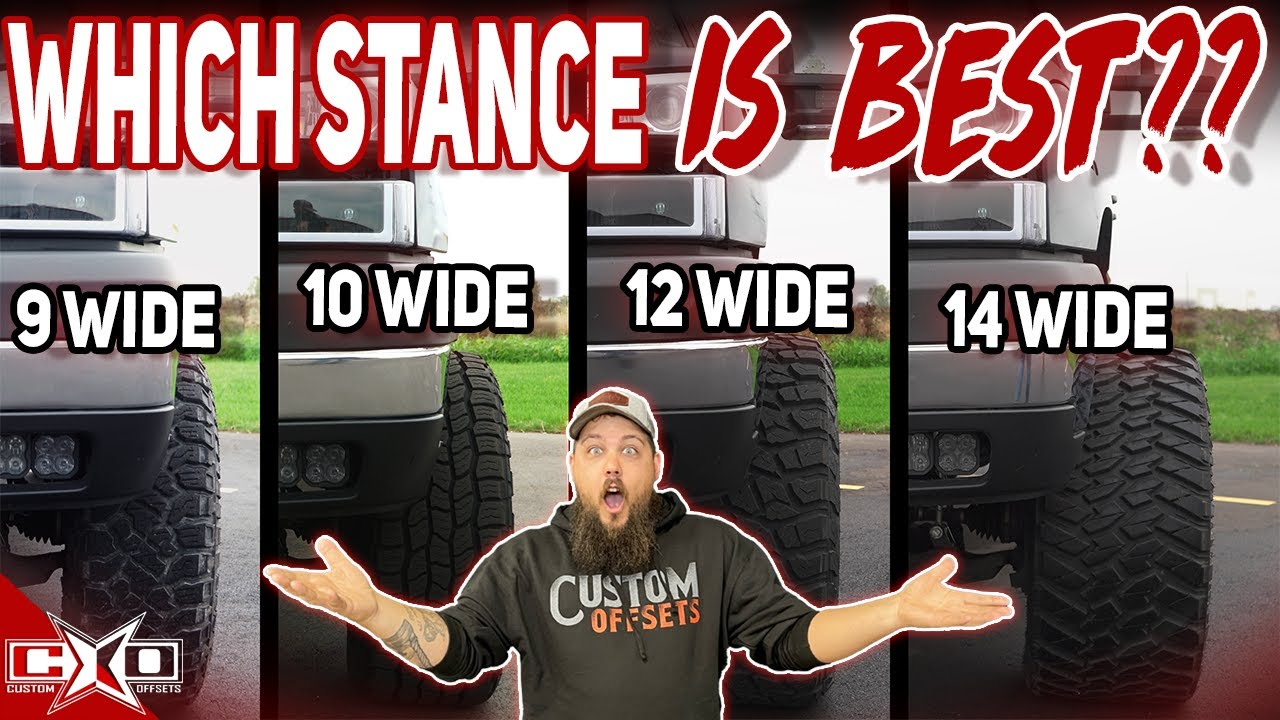 Truck Stance Options that You Can SEE!
