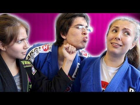 How NOT to Fight the Opposite Sex in Brazilian Jiu Jitsu | LiveTheMachLife