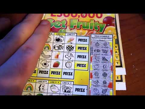 Not My Day - £1 Monopoly, Get Fruity, VIP Cash Words! | ScratchCards From The National Lotto (5)