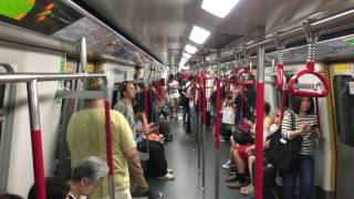 hong kong mtr from tsim sha tsui to admirality