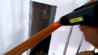 видео Поручень ПВХ пластиковый для перил