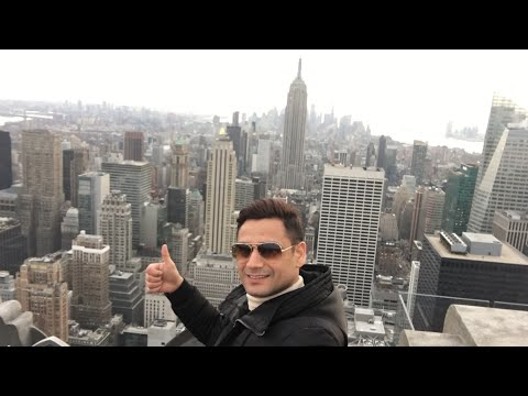 Top Of The Rock Observation Deck || Rockefeller Center || Manhattan New York USA By Kabir Afridi