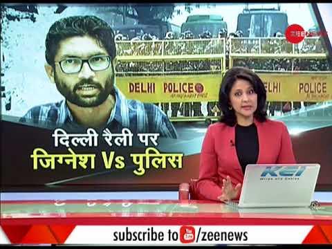 Delhi: Watch what Dalit leader Jignesh Mevani said about Yuva Hunkar Rally