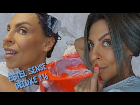 Estel DeLuxe Sense 9.16  ОЖИДАНИЕ/РЕАЛЬНОСТЬ или попытка ЗАТОНИРОВАТЬ МЕЛИРОВАНИЕ ДОМА
