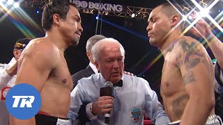 Juan Manuel Marquez vs Mike Alvarado | FREE FIGHT ON THIS DAY