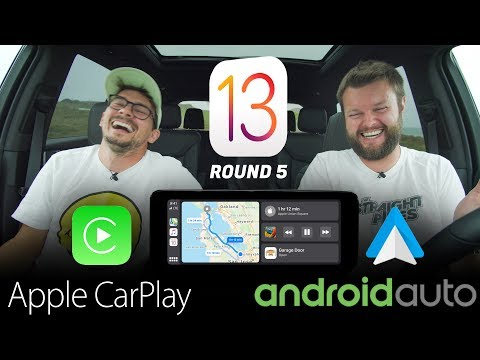 NEWEST 2019 Apple CarPlay IOS 13 Vs Android Auto - REAL WORLD TEST