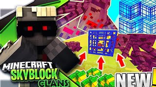 *CASH SPIDER SPAWNER*| Minecraft PE Skyblock + Factions!?Server Let's Play#17[MCPE 1.4.0 SKYCLAN]