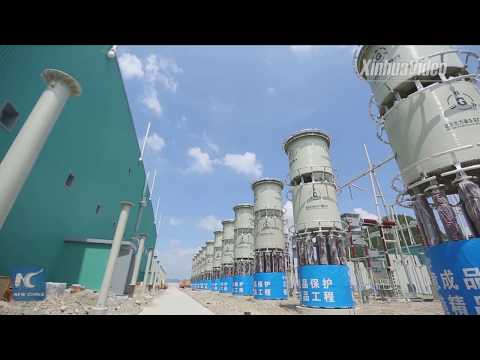 Mammoth voltage transformers installed for power grid upgrade in Hubei, China