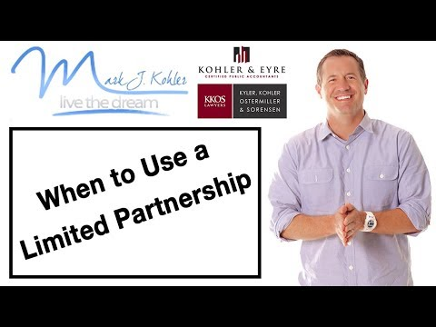 When to use a Limited Partnership
