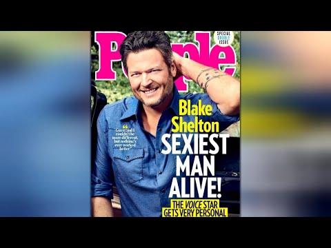 Blake Shelton is 'Sexiest Man Alive'