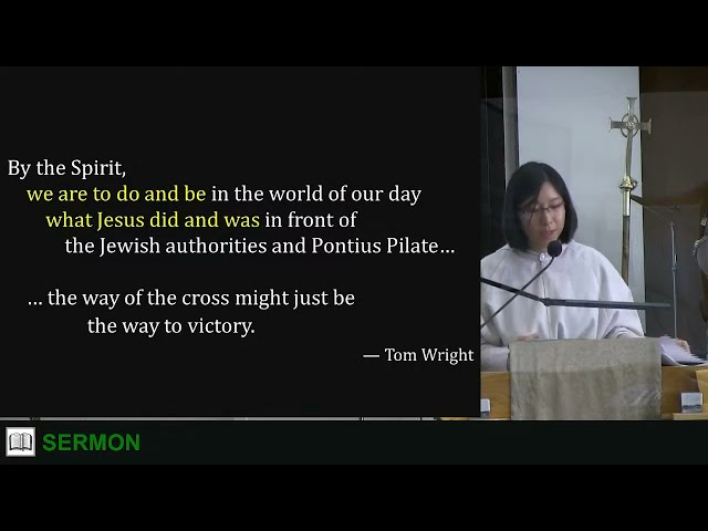 2021-07-25 9 am - The Gospel of the Holy Spirit - Mrs. Pochia Lee (Sermon EN)