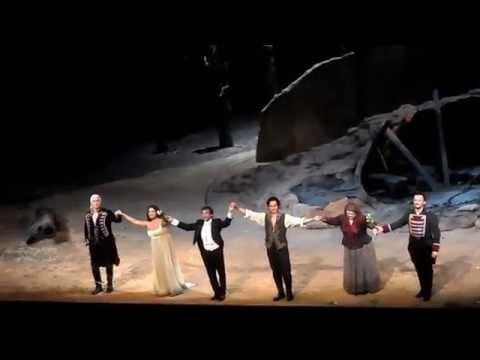 Curtain Call Il Trovatore with Marco Armiliato, Dmitri Hvorostovsky, Yonghoon Lee, Dolora Zajick, A