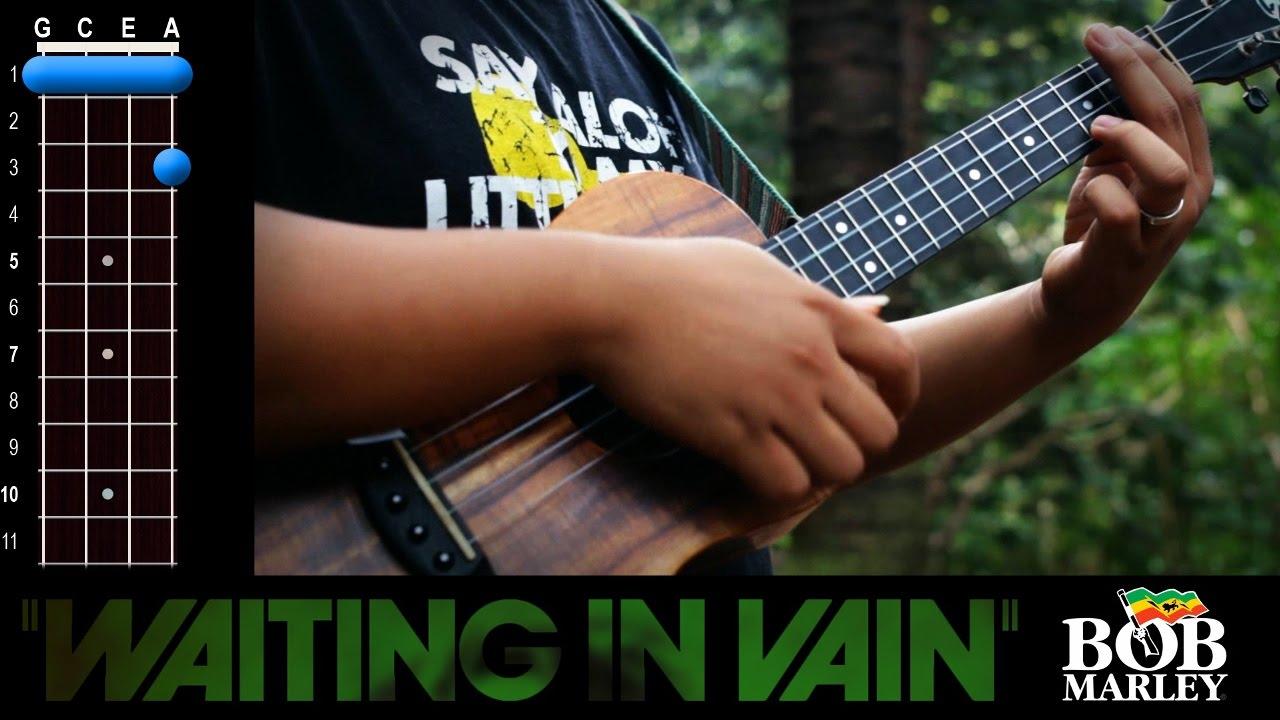 Waiting In Vain Bob Marley Ukulele Play Along Youtube