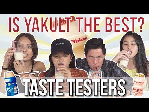 IS YAKULT THE BEST CULTURED MILK | Taste Testers | EP 73