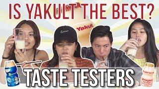 Is Yakult the Best Cultured Milk?   Taste Testers   EP 73