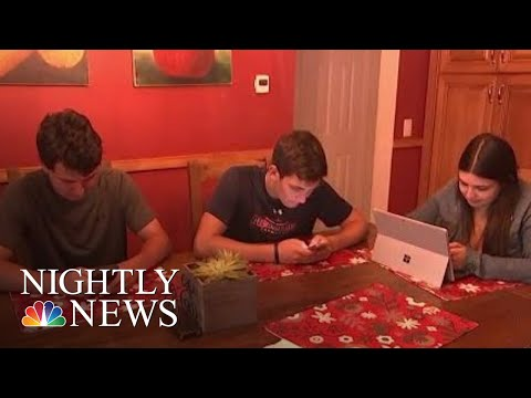 Study Finds Heavy Tech Use Linked To ADHD | NBC Nightly News