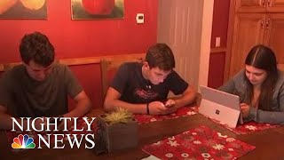 Study Finds Heavy Tech Use Linked To ADHD   NBC Nightly News