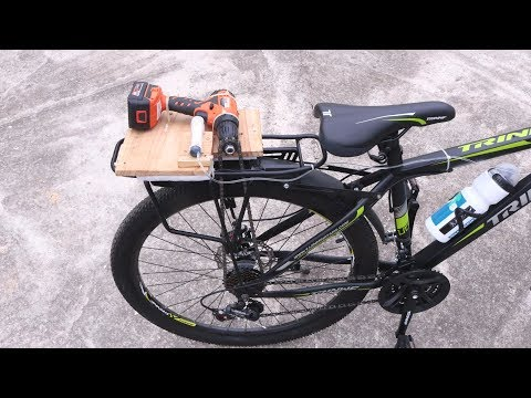 How to Make Electric Bike with Drill Machine