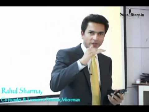 Micromax Co founder Rahul Sharma at TechSparks 2011 | YourStory TV