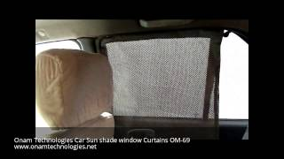 Car Sun shade window curtains Om-69 : Onam Technologies(, 2015-08-07T14:48:06.000Z)