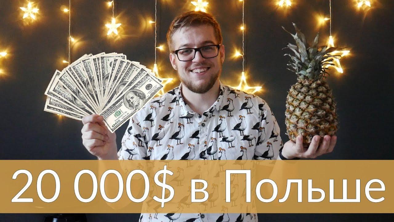 Сколько я зарабатываю в Польше. 20 000 $ МНОГО или МАЛО?