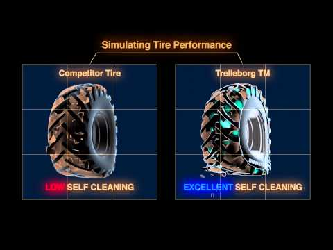 Trelleborg TM Self Cleaning