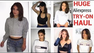 HUGE Aliexpress Haul 2017 (try-on) ft FASHION NOVA jeans | Clothing, Accessories, and Jewelry