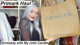 Primark Haul & My Jolie Candle Christmas Giveaway!