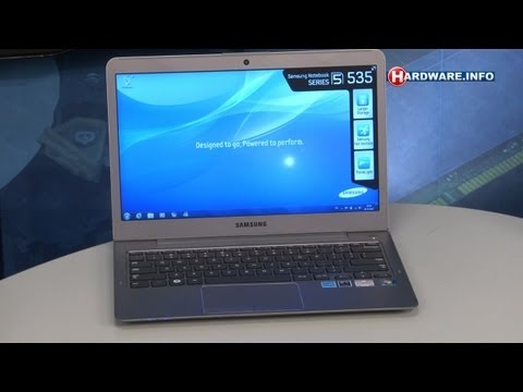 Samsung Series 5 535 laptop review - Hardware.Info TV (Dutch)