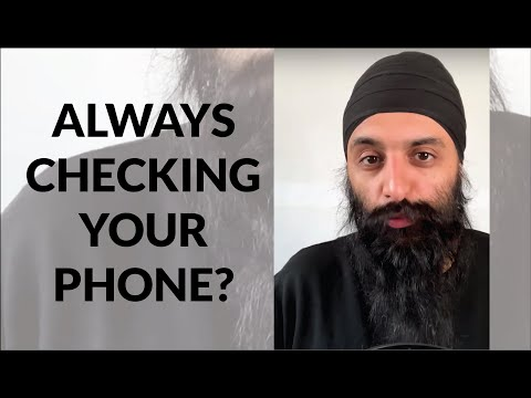 If You're Always Looking At Your Phone, Watch This