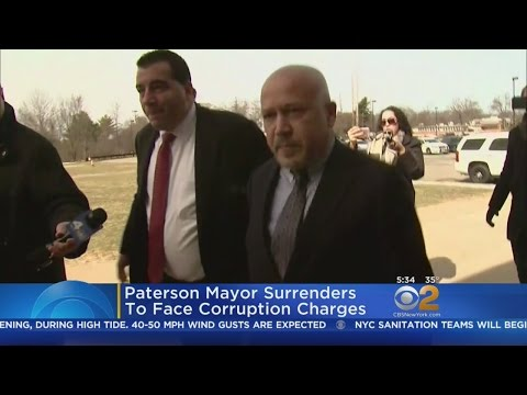 Paterson Mayor Joey Torres Surrenders To Police