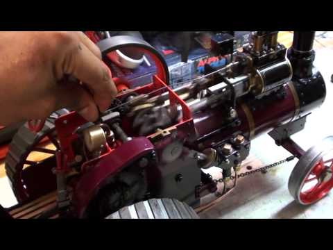 1 inch scale traction live steam engine