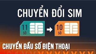 Cách đổi đầu số tự động từ 11 sang 10 số cực dễ - Simple tip to Transfer cellphone number!