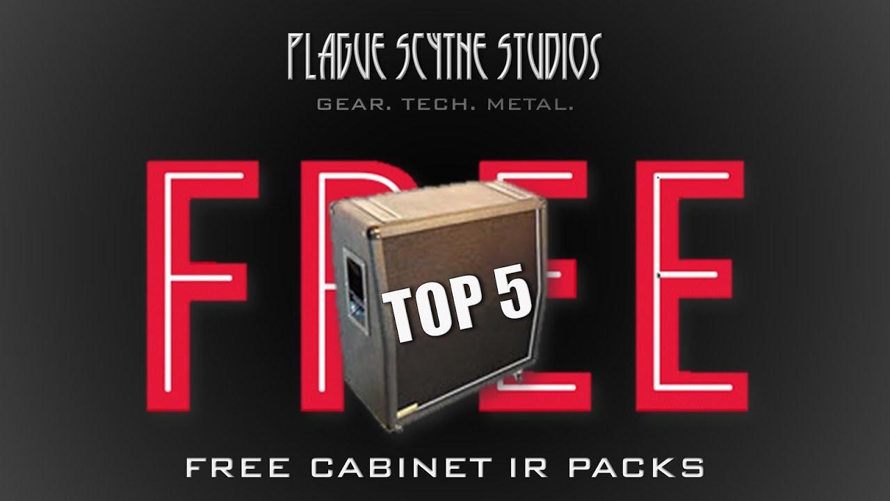 My Top 5 - Free Cabinet Impulse Responses Packs