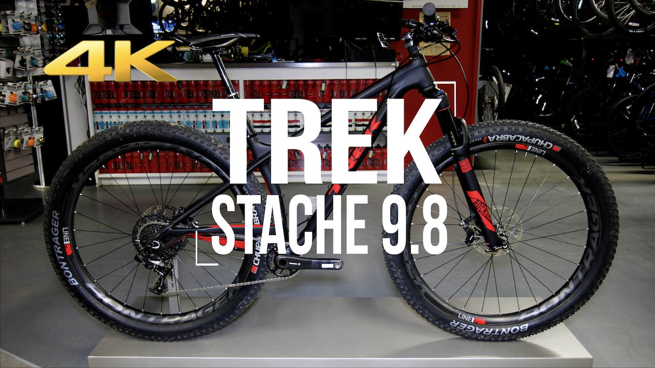 2017 Trek Stache 9 8 Actual Weight Youtube