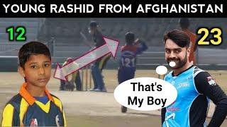 Young Rashid Khan Bowler From Afghanistan || 12 years Old Rashid Khan Same Bowler