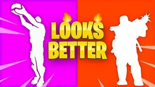 TOP 10 Fortnite Dances Look Better With These Skins..!!
