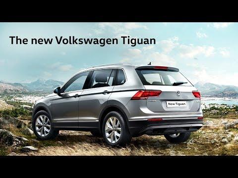 The new Volkswagen Tiguan