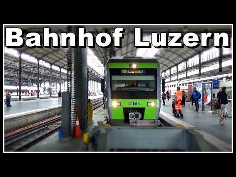 Bahnhof Luzern / Railway station Lucerne, Switzerland 2017
