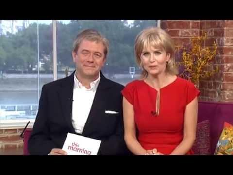 Jon Culshaw & Debra Stephenson as Ruth & Eamonn  This Morning 31st July 2014