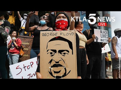 Protests, Unrest Continues In Los Angeles 1 Week After George Floyd Killing | KTLA 5 News