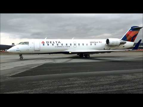 Up Close and Personal with Regional Jets!  -  Wilkes-Barre/Scranton Intl.