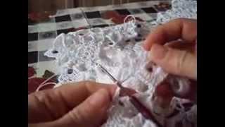 Летняя кофточка вязание крючком