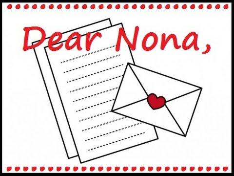Dear Nona, #9