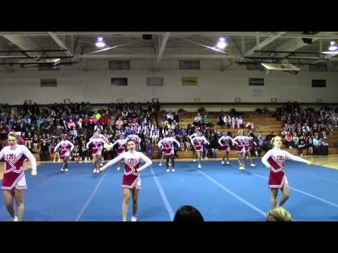 Trexler Middle School Cheer Competition 2013