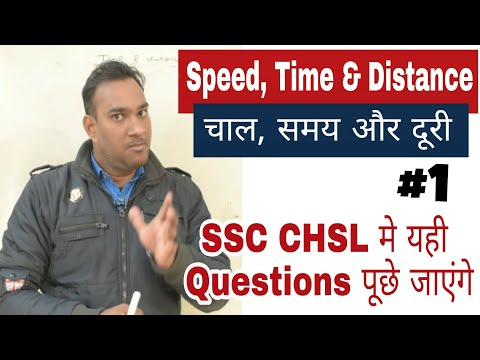 Speed, Time And Distance Questions For SSC CHSL, CGL EXAM | Maths Tricky Questions For SSC CHSL