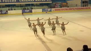 Чемпионат России по синхронному катанию  MC  КП 3 Парадиз СПБ