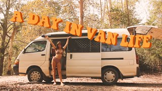 a day in van life | solo female traveller