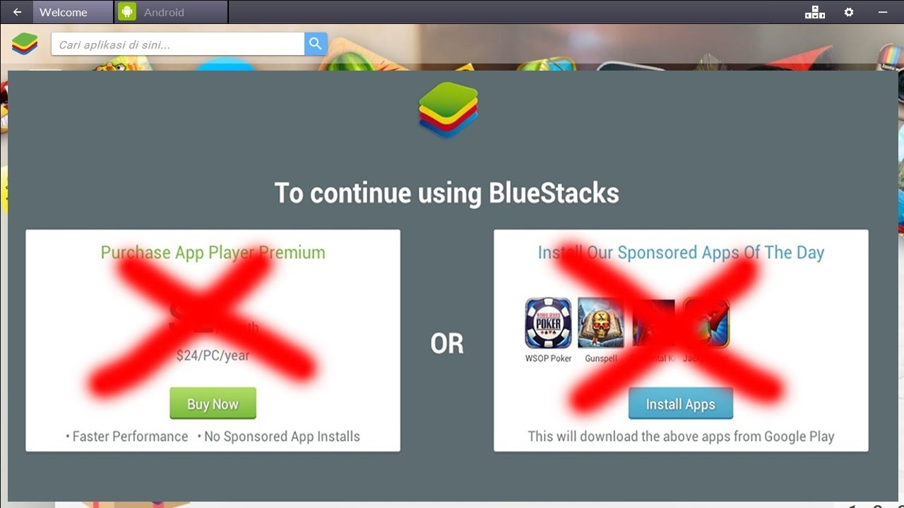free bluestacks premium