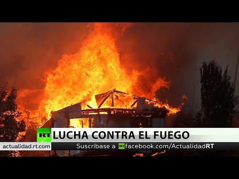 Chile: Alerta Roja Por Un Voraz Incendio Forestal En Valparaíso